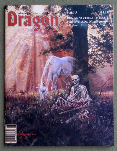 Image for Dragon Magazine, Issue 110