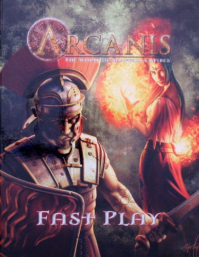 Image for Arcanis: The World of Shattered Empires (Fast Play) - Free RPG Day 2011