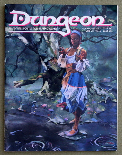 Image for Dungeon Magazine, Issue 42 (July/Aug 1993)
