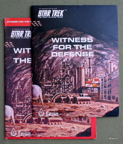 Image for Witness For The Defense (Star Trek: The Roleplaying Game)