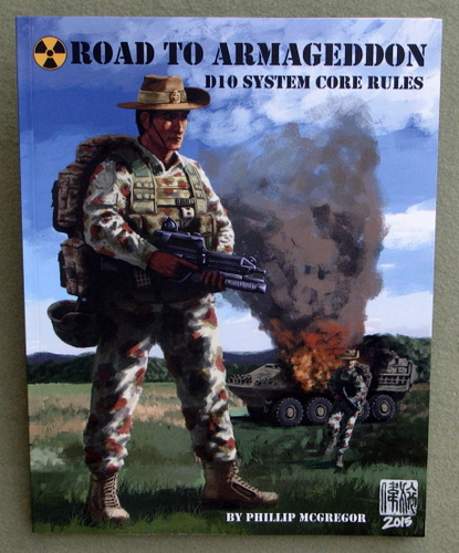 Image for Road to Armageddon: D10 System Core Rules: Soldier & LAV Cover