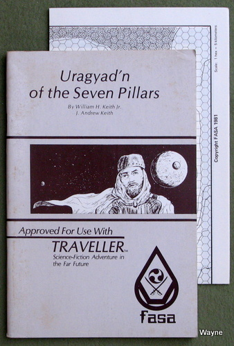 Image for Uragyad'n of the Seven Pillars (Traveller RPG)