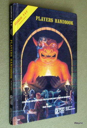 Image for Players Handbook (Advanced Dungeons & Dragons, 1st Edition)