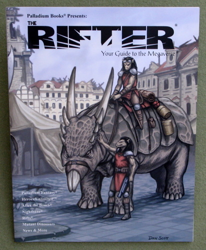 Image for Rifter #23: Your Guide to the Megaverse (Rifts)
