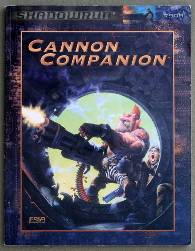 Image for The Cannon Companion: A Shadowrun Sourcebook