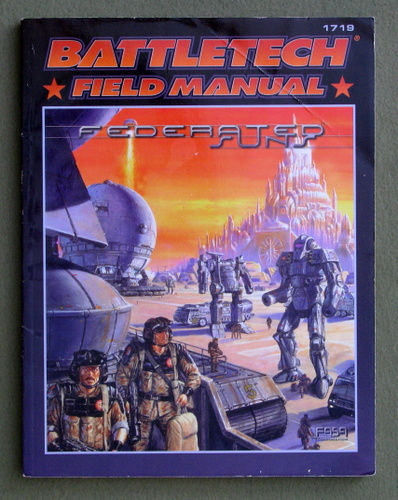 Image for Federated Suns: Battletech Field Manual