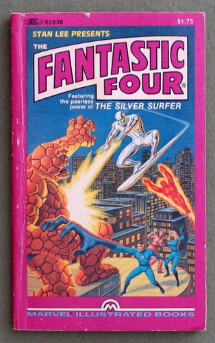 Image for Fantastic Four Illustrated Books - featuring the peerless power of the Silver Surfer
