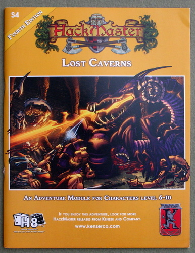 Image for Lost Caverns (Hackmaster Adventure S4)