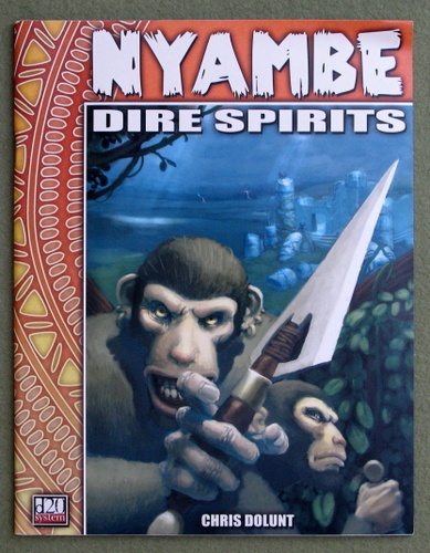 Image for Dire Spirits (Nyambe: D20 system)