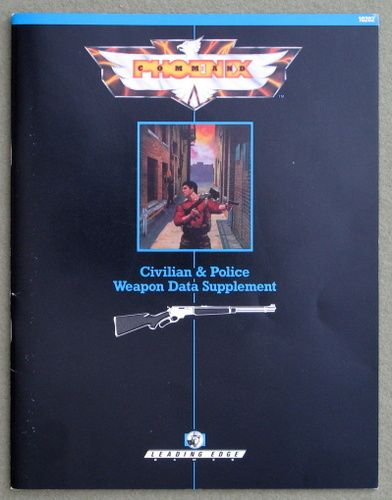 Image for Civilian & Police Weapon Data Supplement (Phoenix Command)