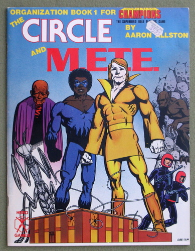 Image for The Circle and M.E.T.E. (Organization Book 1 for Champions)
