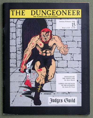 Image for The Dungeoneer, Issue 15 (January/February 1980)
