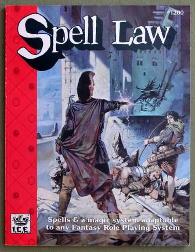 Image for Spell Law (Rolemaster 2nd Edition, Revised)
