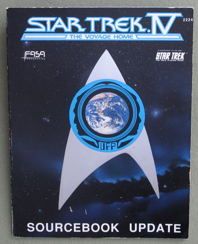 Image for Star Trek IV - The Voyage Home: Sourcebook Update (Star Trek RPG)