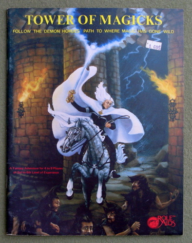 Image for Tower of Magicks (Advanced Dungeons and Dragons: Role Aids)