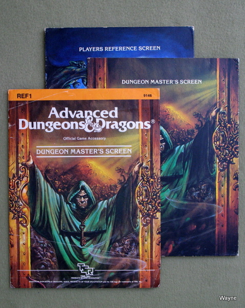 Image for Dungeon Masters Screen (Advanced Dungeons & Dragons, 1st Edition)