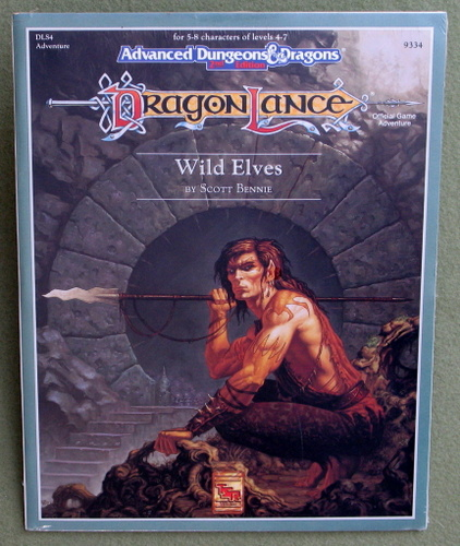 Image for Wild Elves (Advanced Dungeons and Dragons / Dragonlance Module DLS4)
