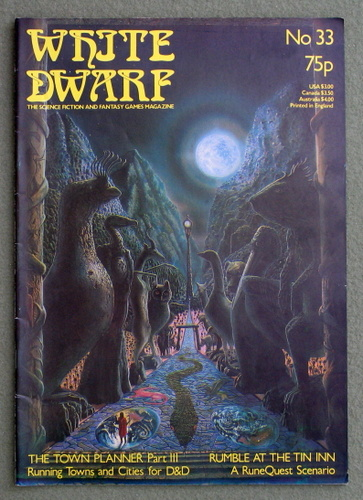 Image for White Dwarf Magazine, Issue 33