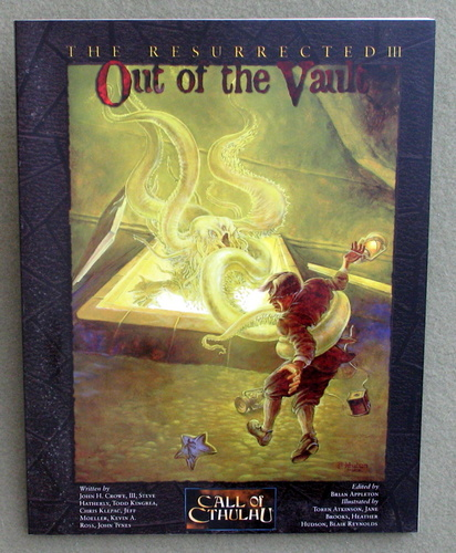 Image for The Resurrected 3: Out of the Vault (Call of Cthulhu)