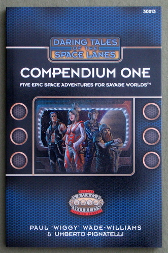 Image for Daring Tales of the Space Lanes: Compendium One (Savage Worlds)