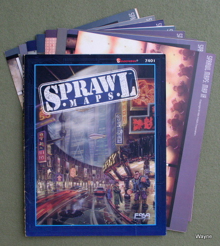 Image for Sprawl Maps (Shadowrun RPG)
