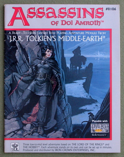 Image for Assassins of Dol Amroth (Middle Earth Role Playing/MERP)