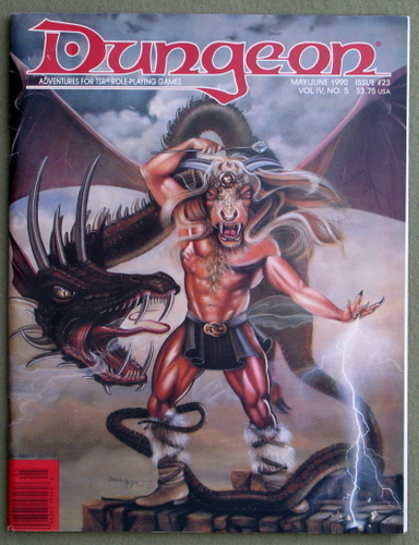 Image for Dungeon Magazine, Issue 23