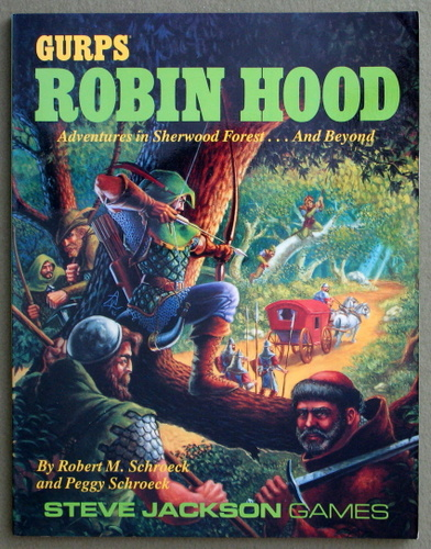 Image for GURPS Robin Hood: Adventures in Sherwood Forest...and Beyond