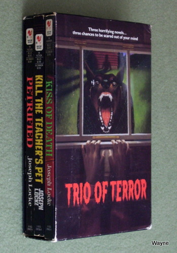 Image for Trio of Terror: Kill the Teacher's Pet, Petrified, Kiss of Death (Slipcase Set)
