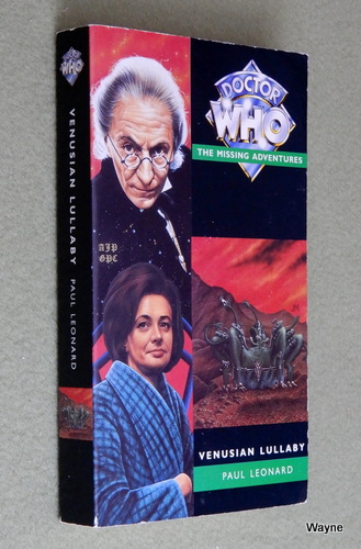 Image for Venusian Lullaby (Doctor Who: The Missing Adventures)