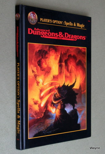 Image for Player's Option: Spells & Magic (Advanced Dungeons & Dragons, 2nd Edition, Revised)