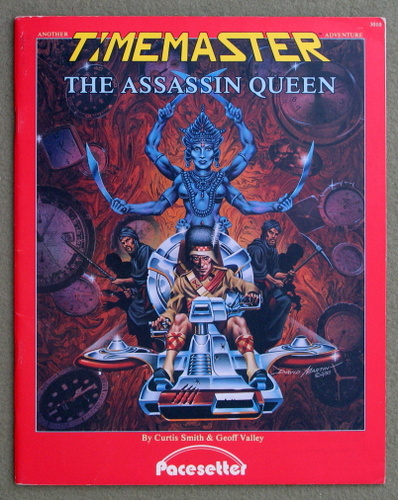 Image for The Assassin Queen (A Timemaster Adventure)
