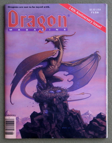 Image for Dragon Magazine, Issue 158