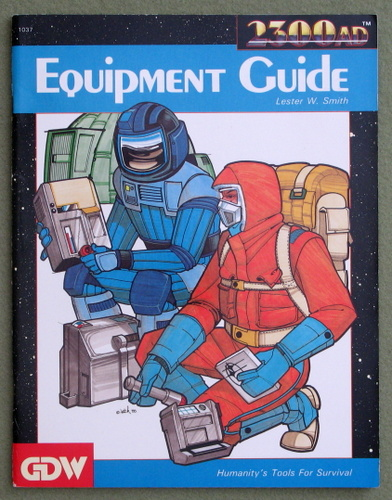 Image for Equipment Guide (2300AD role playing game)