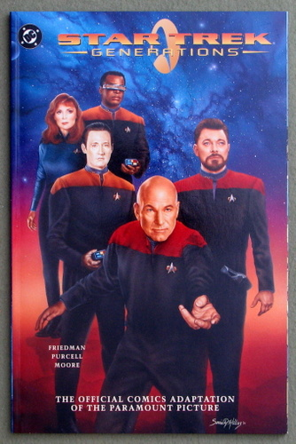 Image for Star Trek Generations Official Comics Adaptation graphic novel