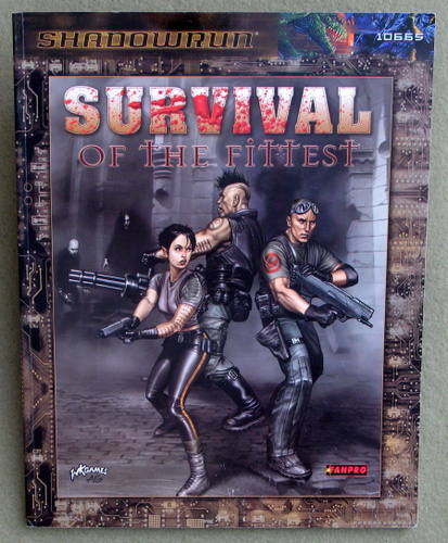 Image for Survival of the Fittest (Shadowrun)