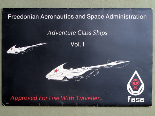 Image for Adventure Class Ships, Vol. 1 (Traveller) - 1ST PRINT