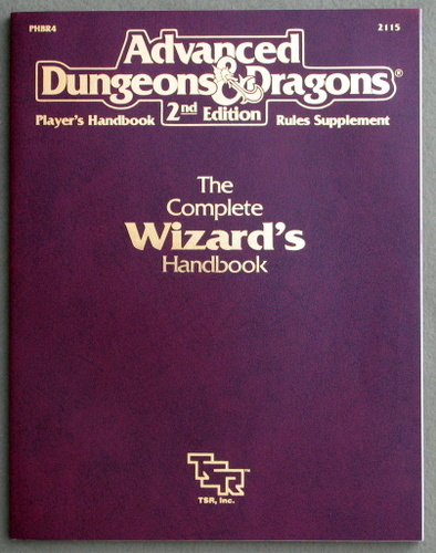 Image for Complete Wizard's Handbook (Advanced Dungeons & Dragons Accessory PHBR4)