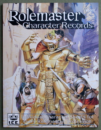 Image for Rolemaster Character Records