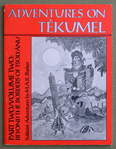 Image for Adventures on Tekumel, Pt. 2, Vol. 2: Beyond the Borders of Tsolyanu