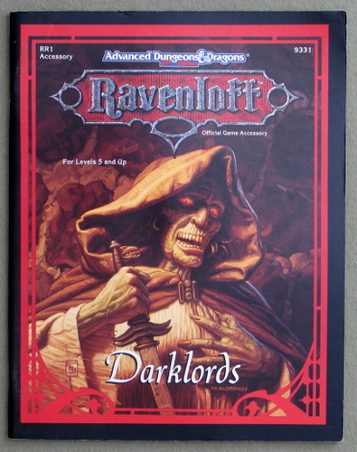 Image for Darklords (Advanced Dungeons & Dragons: Ravenloft Accessory RR1)