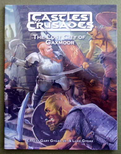 Image for Lost City of Gaxmoor (Castles & Crusades)