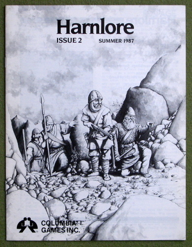 Image for Harnlore, Issue 2 (Harn Fantasy System)