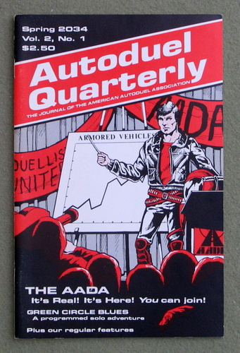 Image for Autoduel Quarterly: Vol. 2, No. 1 (Car Wars)