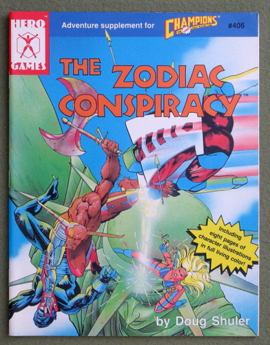 Image for The Zodiac Conspiracy (Champions)
