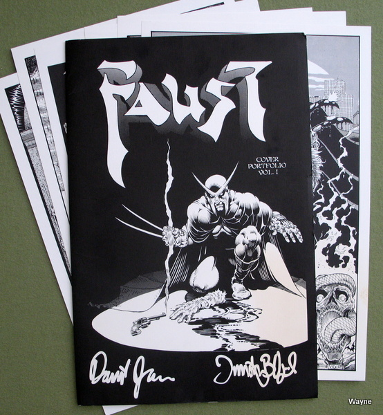 Image for Faust: Cover Portfolio, Volume 1