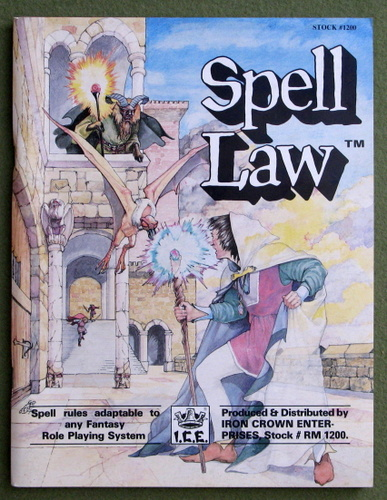 Image for Spell Law (Rolemaster)