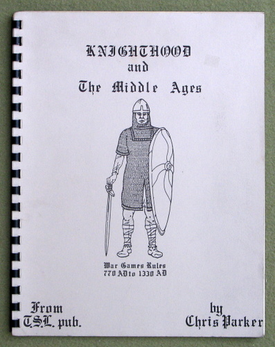 Image for Knighthood and The Middle Ages: War Games Rules, 770AD to 1330AD