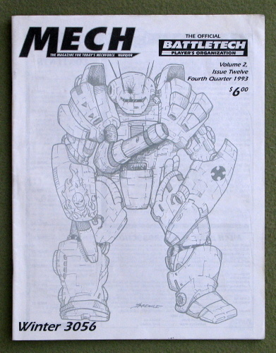 Image for Mech: The Magazine for Today's Mechforce Warrior, Issue 12 (Battletech)