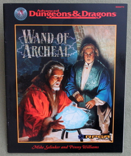 Image for Wand of Archeal (Advanced Dungeons & Dragons RPGA Network Adventure)
